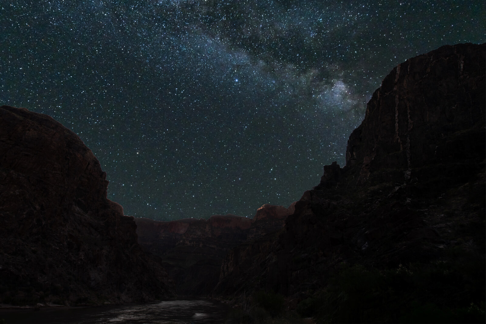 grand canyon stargazing at diamond creek