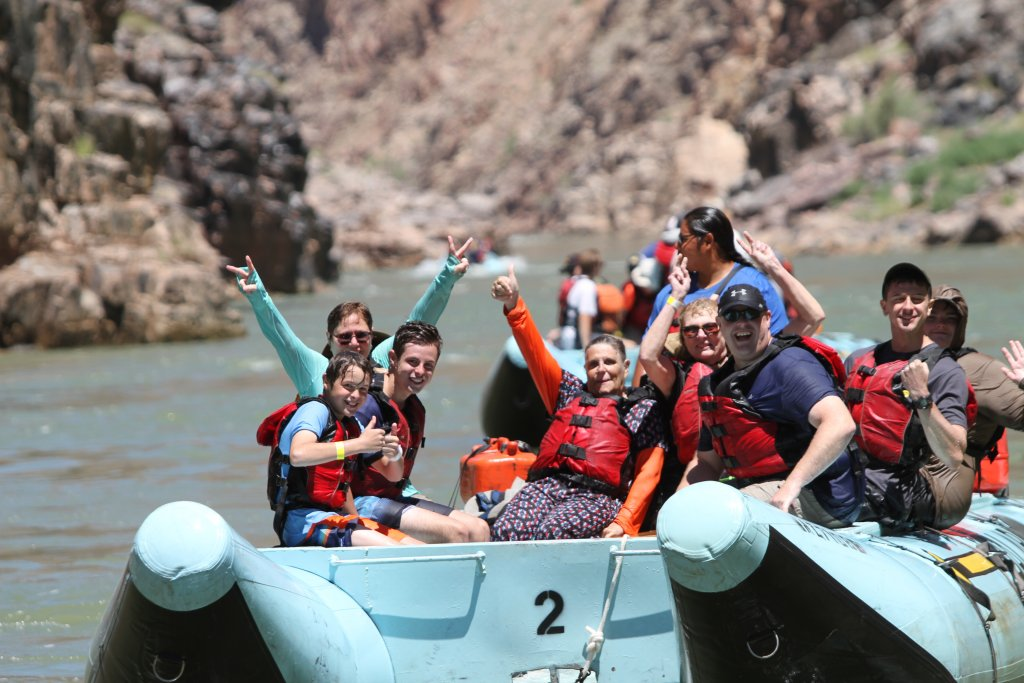 Colorado River Rafting with Hualapai River Runners