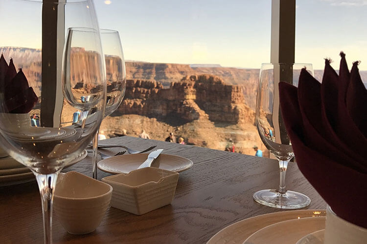 Kitchen rental for weddings at the Grand Canyon West
