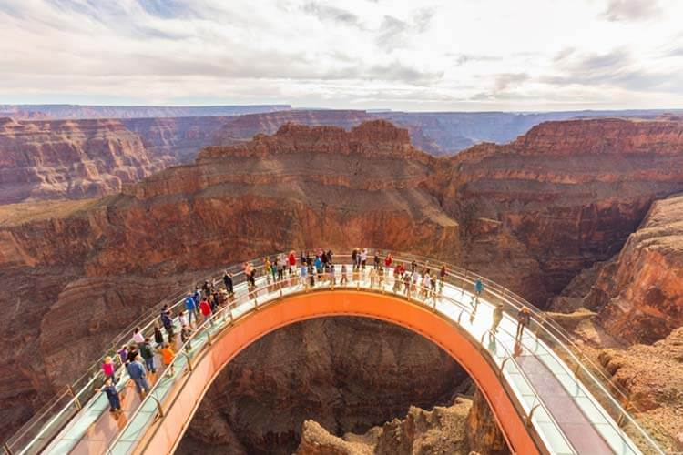 Legacy Pass with Skywalk ticket to truly experience Grand Canyon West