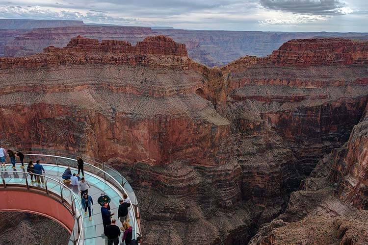 skywalk package add on for Grand Canyon West tours.